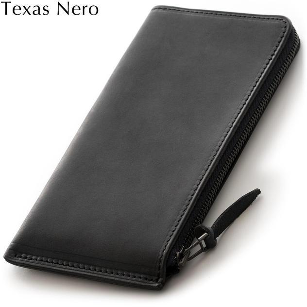《単》長財布 Texas Nero(黒)