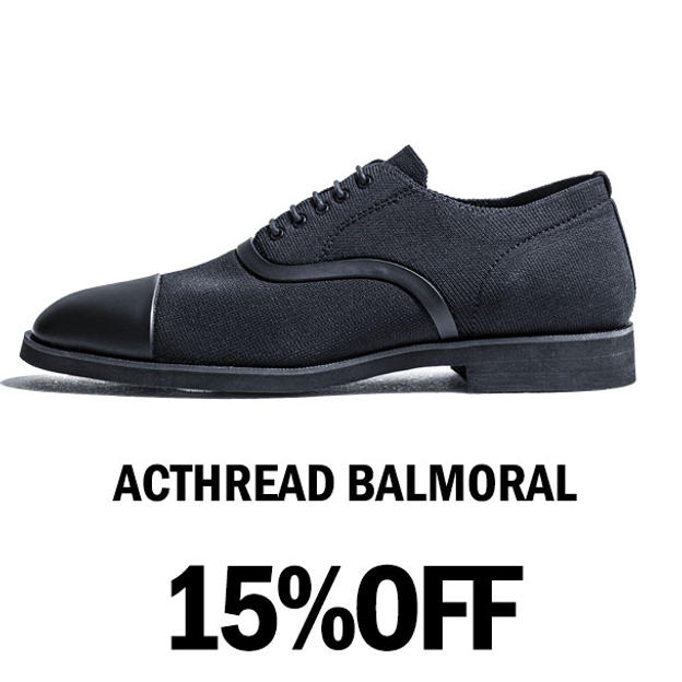 【15%OFF】ACTHREAD BALMORAL