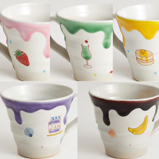 【通常価格6,050円】5種類から選べるマグカップ SweetS